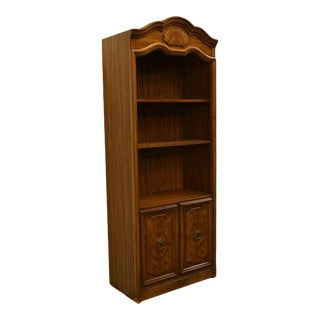 20th Century French Country Drexel Cabinet Shelf Bookcase