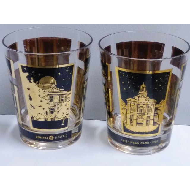 General Electric 1913-1963 Nela Park Rock Glasses - a Pair For Sale - Image 10 of 10