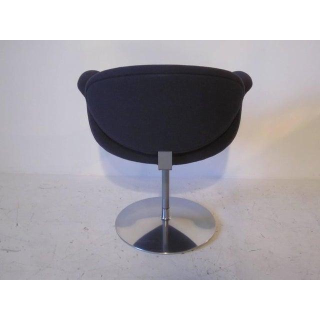 Mid-Century Modern Pierre Paulin Op Art Sculptural Swiveling Armchair For Sale - Image 3 of 7