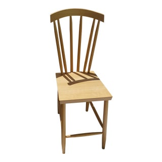Design House Natural Beech Wood & Waterbased Matte Varnish Family Chair No. 3