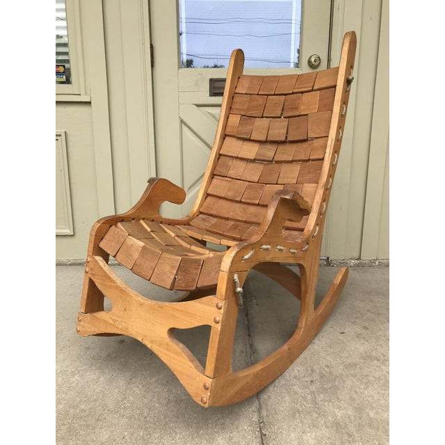 Super Wood Rocking Chair By Vermont Folk Rocker Pabps2019 Chair Design Images Pabps2019Com