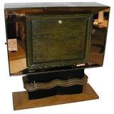 Image of Vittorio Valabrega Rare Mid-Century Bar Cabinet Italy Circa 1940 For Sale
