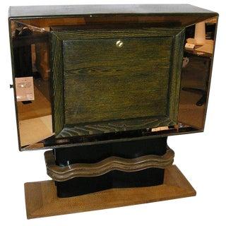 Vittorio Valabrega Rare Mid-Century Bar Cabinet Italy Circa 1940 For Sale
