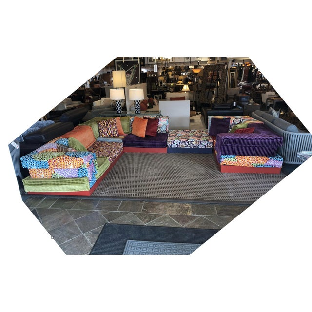 Design Plus Gallery presents the Mah Jong Sectional by Roche Bobois. Designed in the 70's by Hans Hopfer and dressed by...