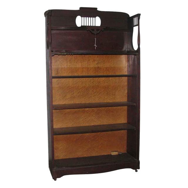 Mahogany Bookcase For Sale