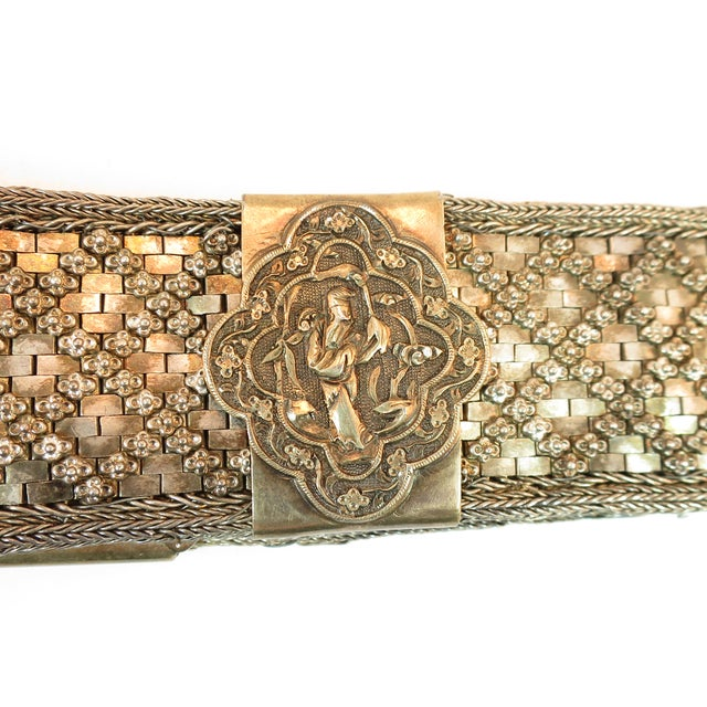 Early 19th Century Asian Silver Belt, China 1830s For Sale In Los Angeles - Image 6 of 13