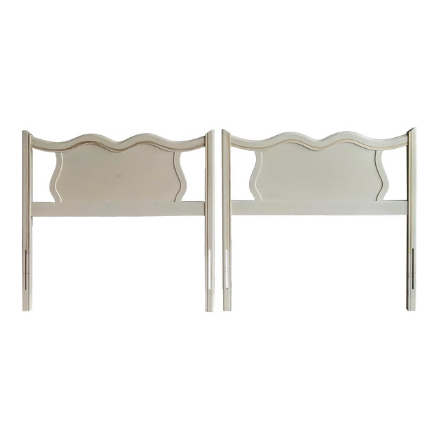 French Provincial Headboards, a Pair For Sale