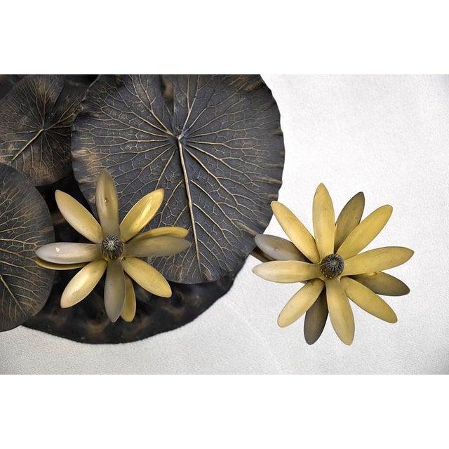 Stylish Mid-Century Modern Lotus Coffee Table - Image 6 of 11