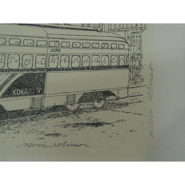 Pittsburgh PAT Transit Cable Car Print For Sale In Pittsburgh - Image 6 of 6