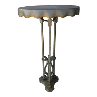 1950s Neo Classical Sculptural Accent Table For Sale