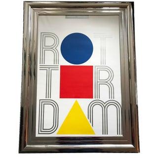 2019 Boymans Van Beuningen Museum Rotterdam Original Dutch Poster Bauhaus Art Expo For Sale