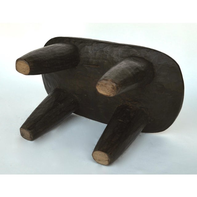 African Senufo Wood Stool For Sale In Los Angeles - Image 6 of 7