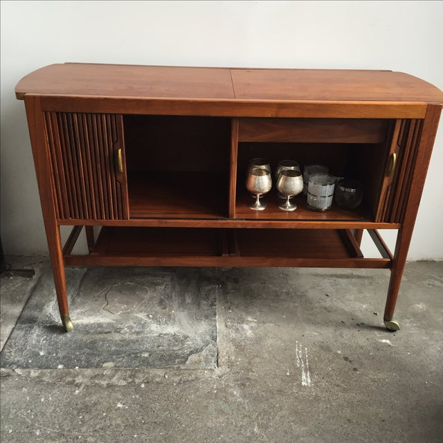 Mid-Century Drexel Bar Cart by Kipp Stewart - Image 4 of 7