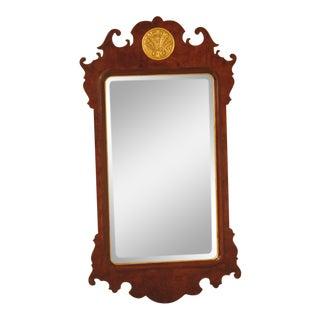 Henredon Aston Court Collection Walnut Mirror For Sale