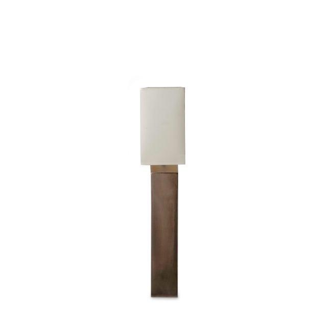 Platinum Glazed Ceramic Table Lamp - Image 4 of 7