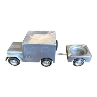1940's Vintage World War II W Baier Willis Jeep Smoker's Set Model For Sale