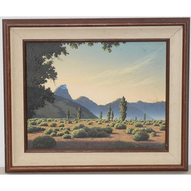 Michael Sarraille Rocky Mountain Landscape Oil Painting For Sale - Image 9 of 9