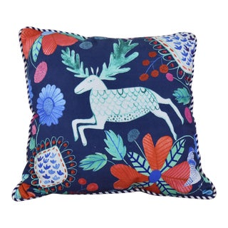 Reindeer Throw Pillow For Sale