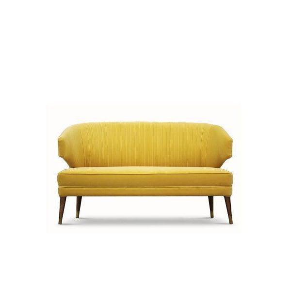 Covet Paris Ibis 2 Seat Sofa For Sale - Image 4 of 5