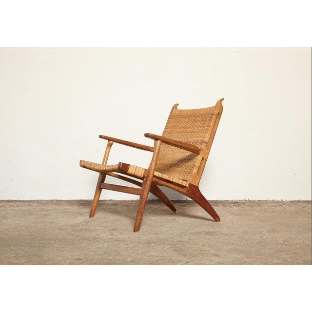 Mid-Century Modern Hans Wegner Ch-27 Chair, Carl Hansen & Son, Denmark, 1950s For Sale - Image 3 of 11