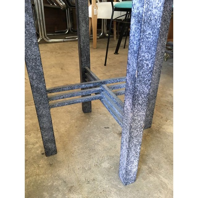 1980s Post Modern Sculptural Side Table For Sale In Los Angeles - Image 6 of 11