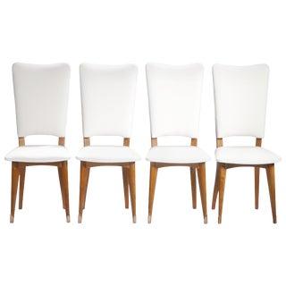 Set of 8 Midcentury Scandinavian Danish Teak Chairs, 1960s For Sale