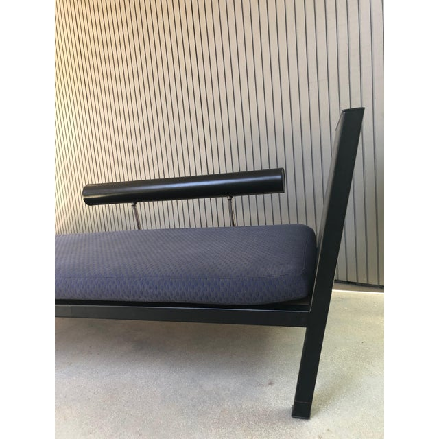 """1980s Mid-Century Modern Antonio Citterio for B&b Italia """"Baisity"""" Leather Chaise Lounge For Sale In Los Angeles - Image 6 of 11"""