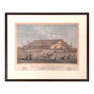 Boston Coliseum National Peace Jubilee Lithograph, 1869 For Sale