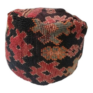 1970s Vintage Moroccan Floor Cushion Pillow For Sale