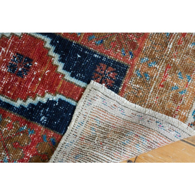 """Old New House Vintage Distressed Oushak Rug - 2'2"""" X 3'3"""" For Sale - Image 4 of 8"""
