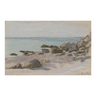 Bord De Mer By Claude Monet