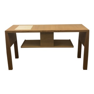 1970s Italian Giorgetti Chin Wing Console Table For Sale