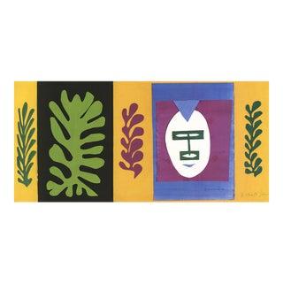 "2005 Lithograph ""L'Esquimau"" by Henri Matisse"
