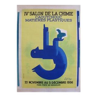 1956 Salon de la Chimie by Paul Colin