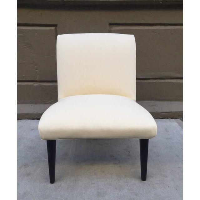 Mid-Century Modern Jens Risom Scoop Chair For Sale - Image 3 of 4