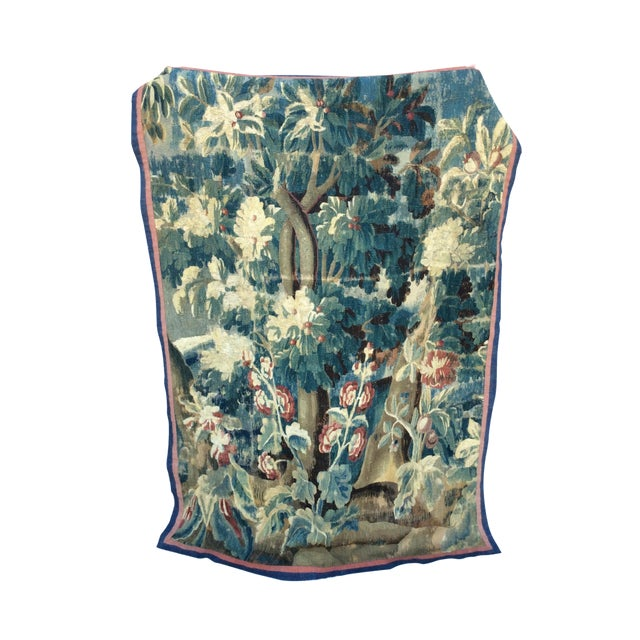 19th C. French Verdure Tapestry - Image 1 of 5