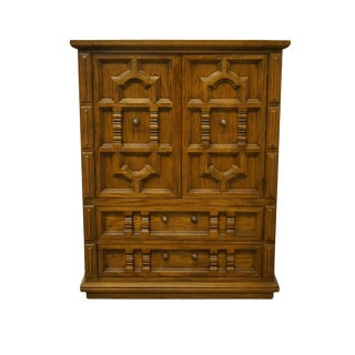 Thomasville Furniture Casa Grande Collection Armoire For Sale