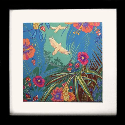 2000 - 2009 Tropical Bird 3 Original Painting For Sale - Image 5 of 6