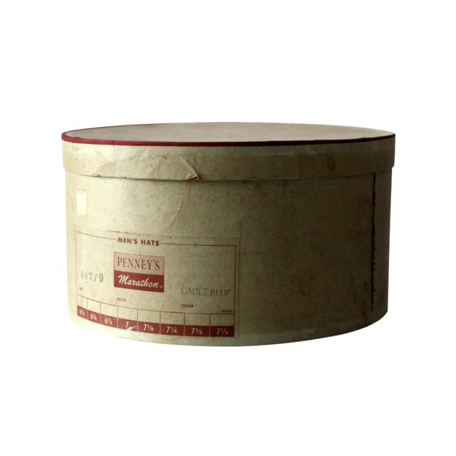 1950s Penney's Hat Box For Sale