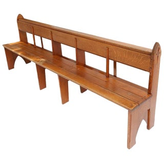 Amsterdam School Style Benches No 2 For Sale