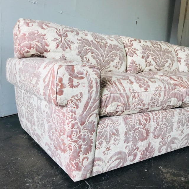 Custom Fortuny Sofa, Two Available For Sale - Image 12 of 13