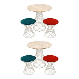 Garden Tables and Stools by Patricia Urquiola For Sale