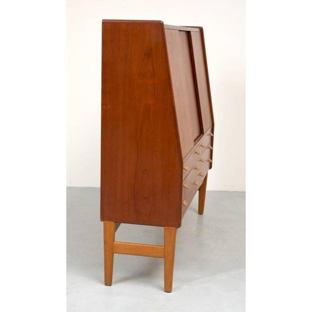 Poul Volther Tall Teak Cabinet - Image 3 of 10