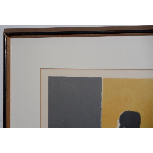 1980s Marcel Mouly (French, 1918-2008) Vintage Lithograph Signed / Numbered C.1980s For Sale - Image 5 of 10