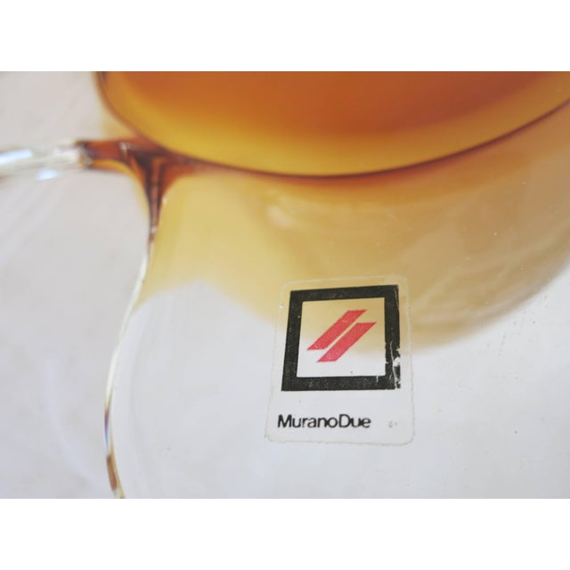 1970s Egg Lamp by Murano Due For Sale - Image 5 of 6