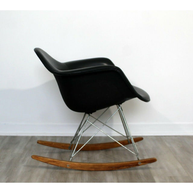 1950s Mid Century Modern Early Charles Eames Eiffel Tower Rocker Rocking Chair 1950s For Sale - Image 5 of 7