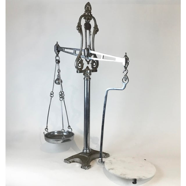 19th C. Hunt & Co. Balance Scale - London For Sale - Image 13 of 13