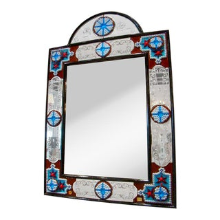 Fratelli Barbini - Millefiore Venetian Mirror For Sale
