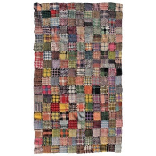 Handmade Pot Holder Quilt or Throw For Sale