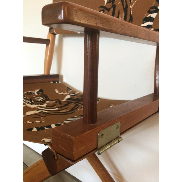 Le Tigre Directors Chair For Sale In Los Angeles - Image 6 of 10